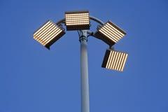 Posts de la lámpara del LED Foto de archivo libre de regalías