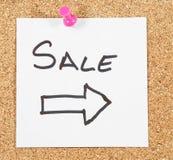 Posts de la venta imágenes de archivo libres de regalías