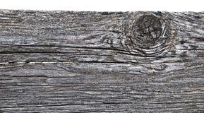 Posts de madera de la cerca en la opinión del primer Imágenes de archivo libres de regalías