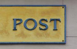Posts de muestra Fotos de archivo libres de regalías