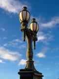 Posts decorativos de la lámpara Imagen de archivo