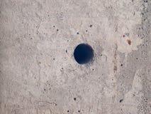 Posts del cemento del primer imagen de archivo libre de regalías