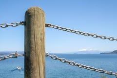 Posts del puerto Fotos de archivo libres de regalías