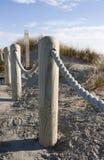 Posts por la playa Fotos de archivo libres de regalías