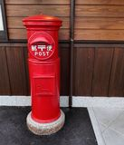 Posts rojos imágenes de archivo libres de regalías