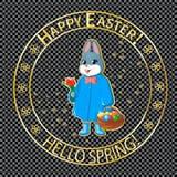 Posts stamp-02 de Pascua Fotografía de archivo libre de regalías