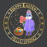 Posts stamp-05 de Pascua Fotografía de archivo libre de regalías