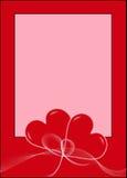 posts-valentin Arkivbilder