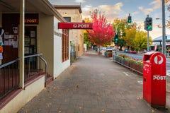 Postshop in Hahndorf, Adelaide Hills-Bereich, Südaustral Lizenzfreies Stockfoto