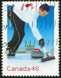 Poststamp Stockbild