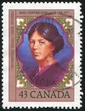 Poststamp Royaltyfria Bilder