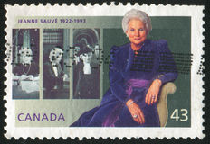 Poststamp Arkivfoton