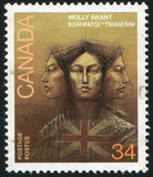 Poststamp Fotografering för Bildbyråer