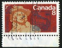 Poststamp royalty free stock photos