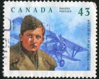 Poststamp gedruckt durch Kanada Lizenzfreies Stockfoto