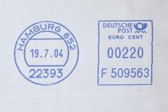 Poststamp Royalty Free Stock Photo