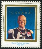 Poststamp som skrivs ut av Kanada Royaltyfri Bild