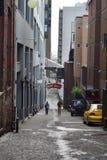 Poststeeg op de Plaats van Snoeken, Seattle, Washington Royalty-vrije Stock Foto's