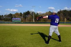 Postura atlética Fotos de archivo