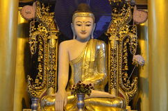 Postura Buddha fotografia stock