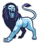 Postura del león ilustración del vector