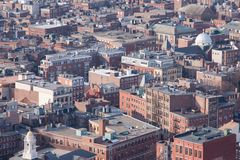 Postura desgarbada de Boston Fotos de archivo