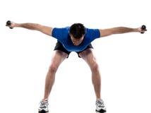 Postura do exercício Imagem de Stock