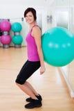 Posture accroupie de boule Image libre de droits