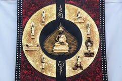 Posture de Bouddha Photo libre de droits