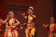 Postures of indian classical dances Royalty Free Stock Image