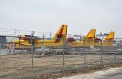 Postvliegtuig Stock Foto's