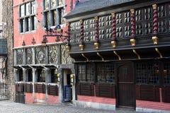 Postwagen krog i Aachen Royaltyfri Foto
