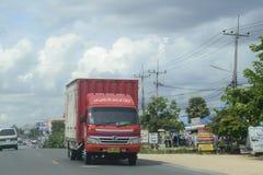 Postwagen Thailand Lizenzfreies Stockbild