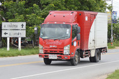 Postwagenauto Thailand stockfotos