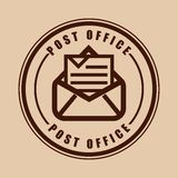 Posty office Royalty Free Stock Photos