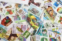 Postzegels Stock Foto