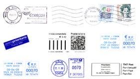 Postzegels 2009 Stock Afbeeldingen