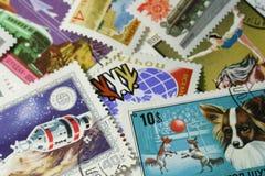 Postzegels royalty-vrije stock afbeeldingen