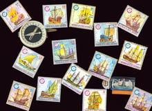 Postzegels Royalty-vrije Stock Foto's