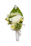 Posy bouquet. On the white Royalty Free Stock Photos