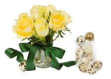 Posy delle rose di Pasqua immagini stock libere da diritti
