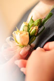 Posy do casamento Foto de Stock Royalty Free