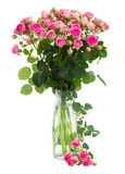 Posy   fresh pink roses Stock Photo