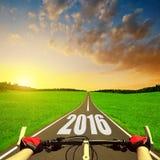 Posyła nowy rok 2016 Zdjęcie Royalty Free