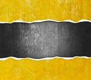 Poszarpany grunge ściany tło Obrazy Royalty Free