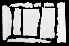 Poszarpany papier obraz stock