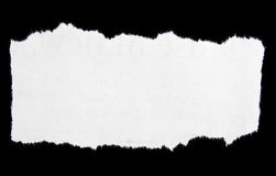 Poszarpany papier fotografia stock