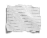 Poszarpany papier, kawałek poszarpany papier Obraz Stock