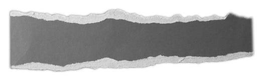 Poszarpany papierowy kawałek zdjęcia stock