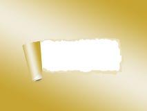 Poszarpany papierowy tło Zdjęcie Royalty Free